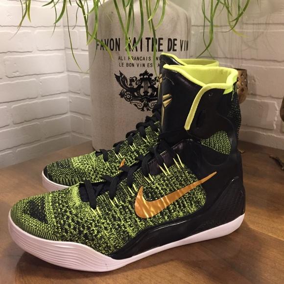 5a81da263dd5 Nike 2014 Kobe 9 Elite Victory 630847-077 Men 7.5